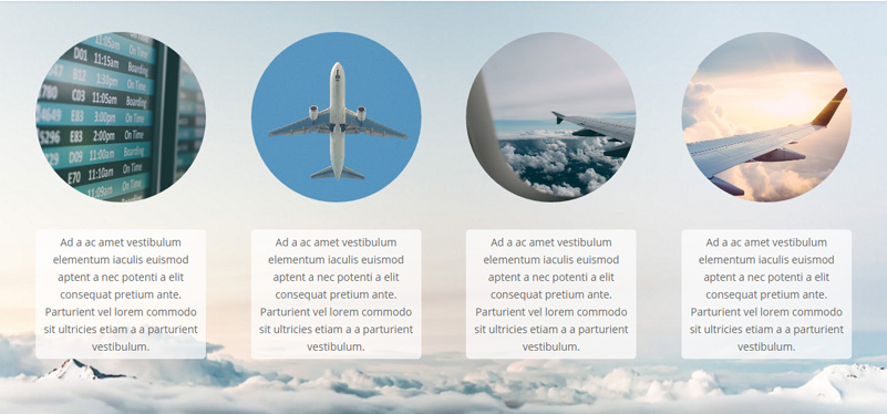 Rounded Blurb Image Style