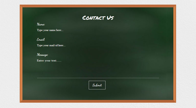 A Contact Form for Schools & Universities in Divi