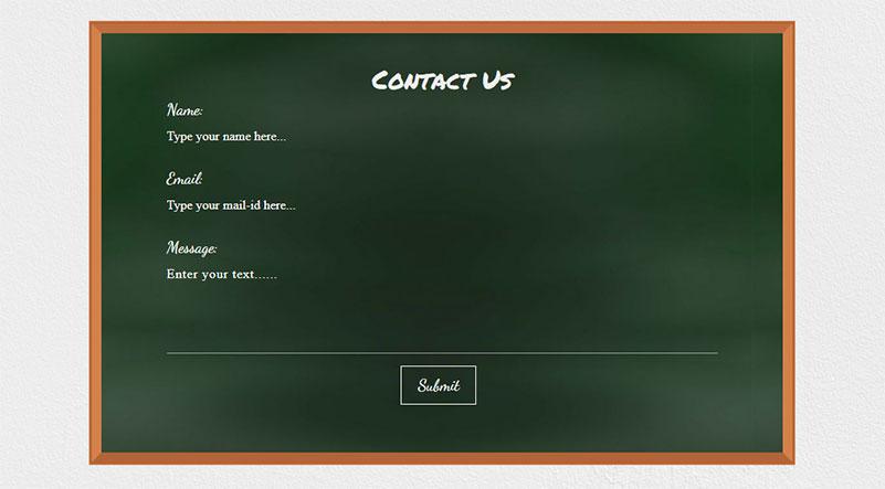 A Contact Form for Schools & Universities in Divi