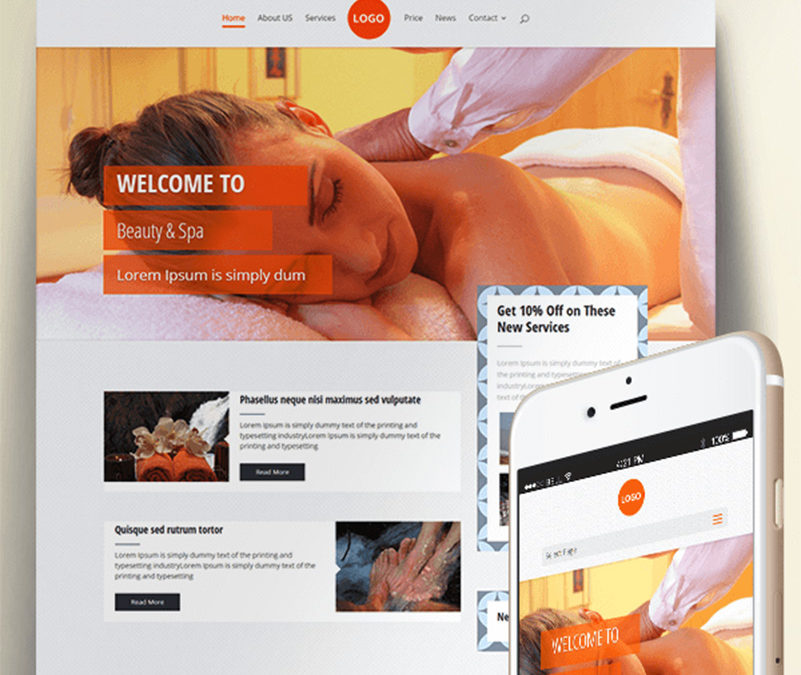 VRYN Spa – A beautiful Child Theme for Divi