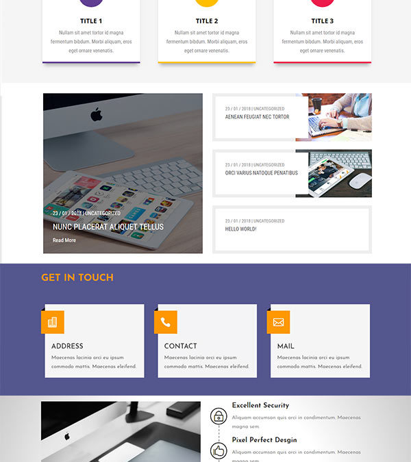 The DBundle Designs Pack 2 – Layout and Section designs for Divi