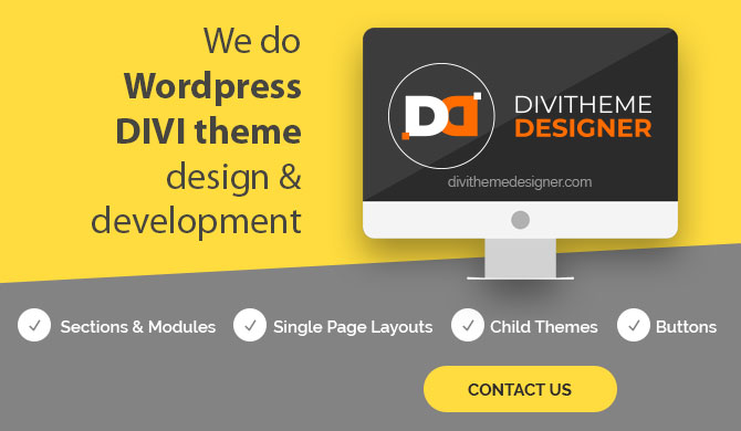Divi Customization works