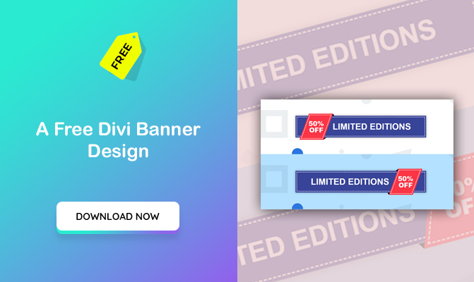 A Divi Banner Design