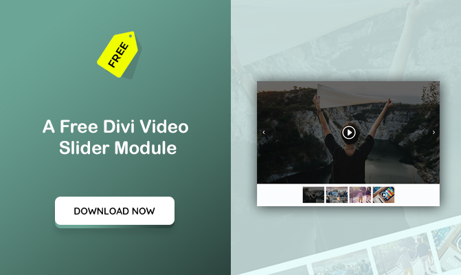 A Divi Video Slider Module