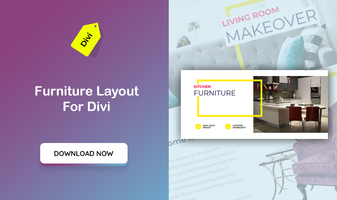 Furniture Layout For Divi